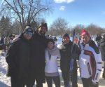 L'équipe RSS au Triathlon d'hiver 2019 de la Fondation CHU Sainte-Justine